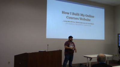 Joe Casabona: How I Built My Online Courses Website using WordPress, WooCommerce, & LearnDash