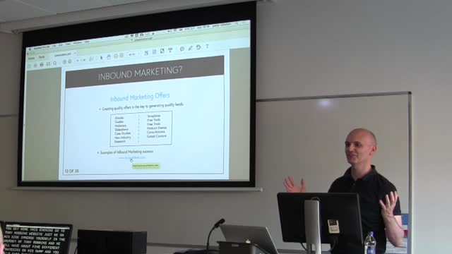 Peter Meehan: In-bound Marketing – Integration with WordPress