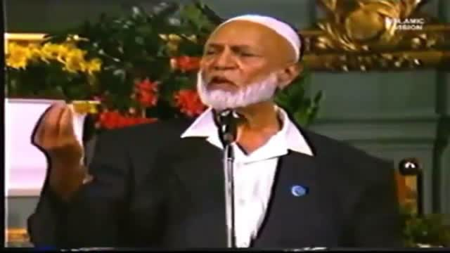 Ahmed Deedat's Video: Trinity Not in the Bible – The Muslim