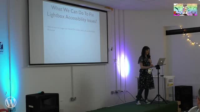 Claire Brotherton: Making popular WordPress plugins more accessible