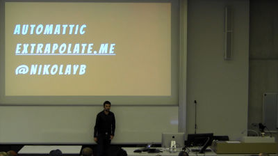 Nikolay Bachiyski: React and Flux for WordPress Developers