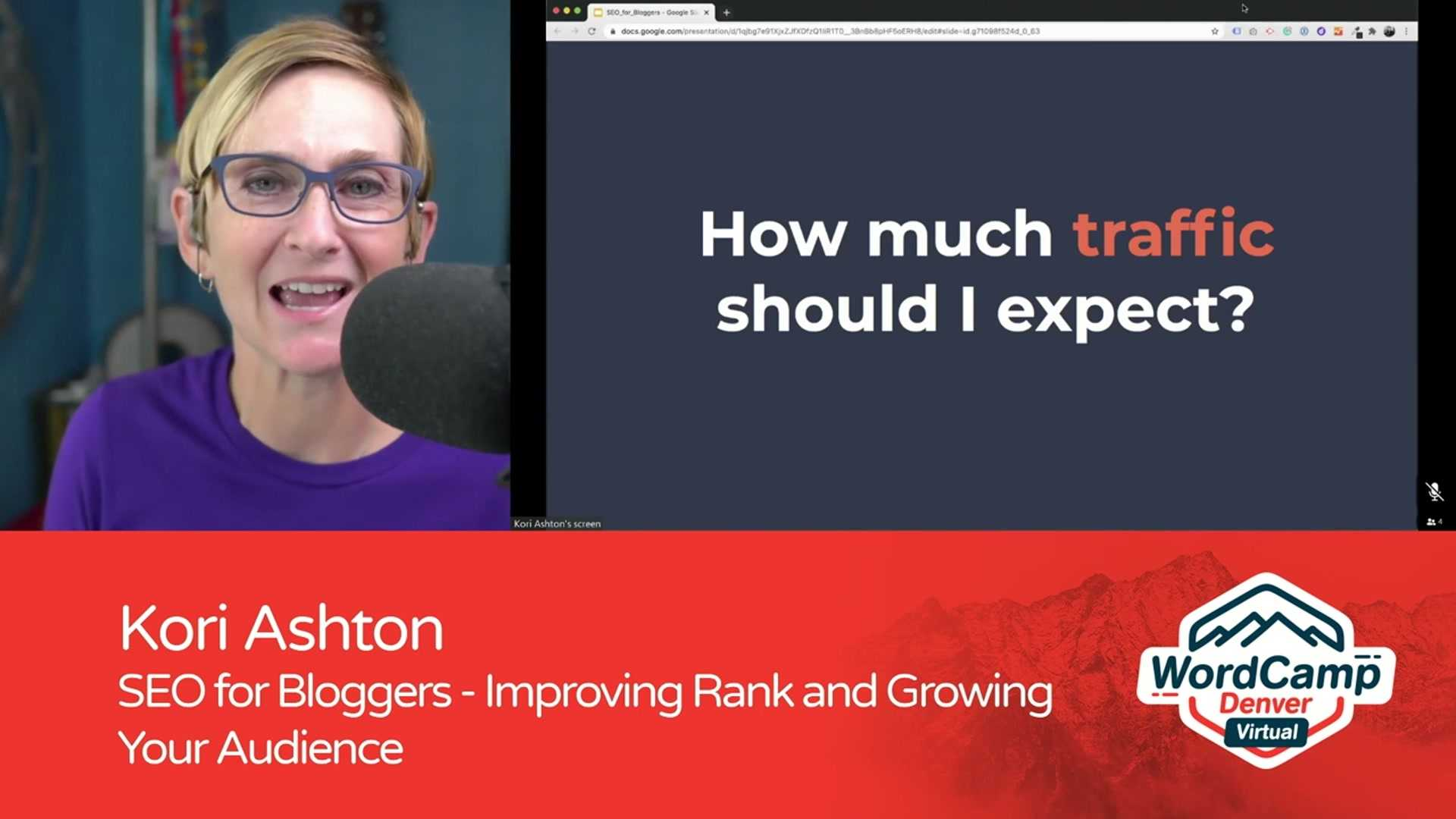 Kori Ashton: SEO for Bloggers - Improving Rank and Growing Your Audience