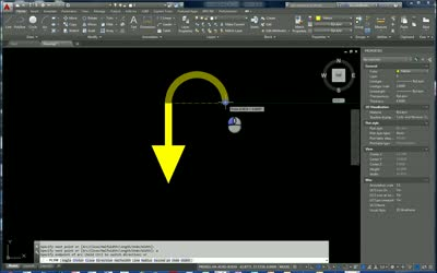 Creating Arrows with a Polyline in AutoCAD | CADproTips