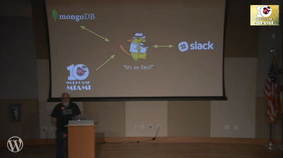 Rick Tuttle: It's ALIVE! How I built the Wapuu Bot using Javascript, Slack and the WP API