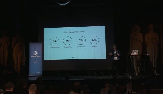 Mari Orpana: WordPress markkinoinnin mahdollistajana
