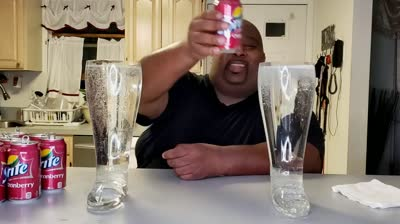 How To Get Diabetes: Man Downs 11 Cans Of Soda!