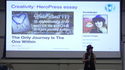 Carole Olinger: Aboard the WordPress Community : A Journey of Self-Discovery