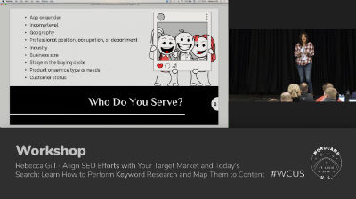 Rebecca Gill: Align SEO Efforts with Your Target Market and Today's Search - Part 1