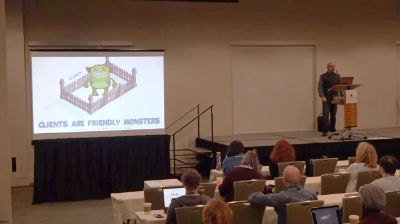 Nathan Ingram: Dealing with Problem Clients ­ Fencing in the Friendly Monsters