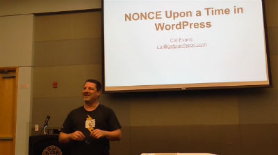 Cal Evans: NONCE Upon a Time in WordPress