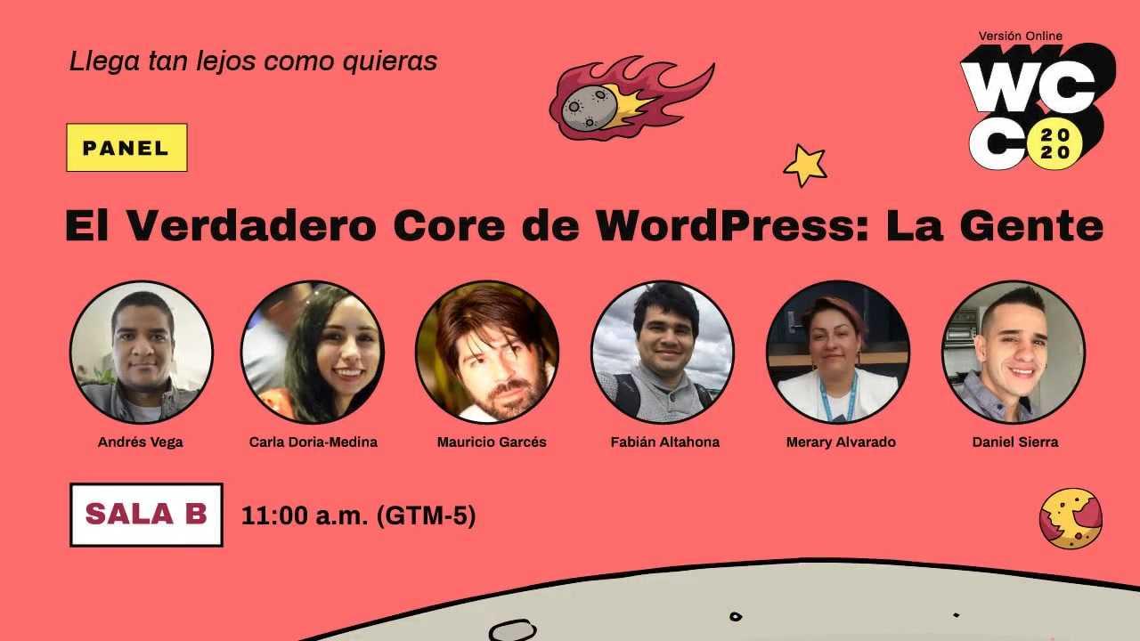 WordCamp Colombia 2020: PANEL - No es sólo WordPress, es lo que hacemos con el verdadero poder de WordPress