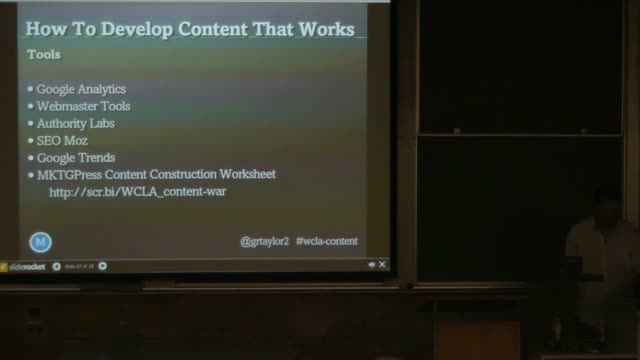 Greg Taylor: Winning The Search War With Content