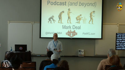 Mark Deal: Evolving a Blog to a Podcast (and Beyond)