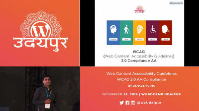 Vishal Sharma: Web Content Accessibility Guidelines - WCAG 2.0 AA Compliance