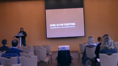 Andrew Woods: HTML is for Everyone