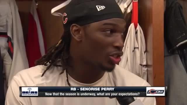nfl Chicago Bears Senorise Perry GAME Jerseys
