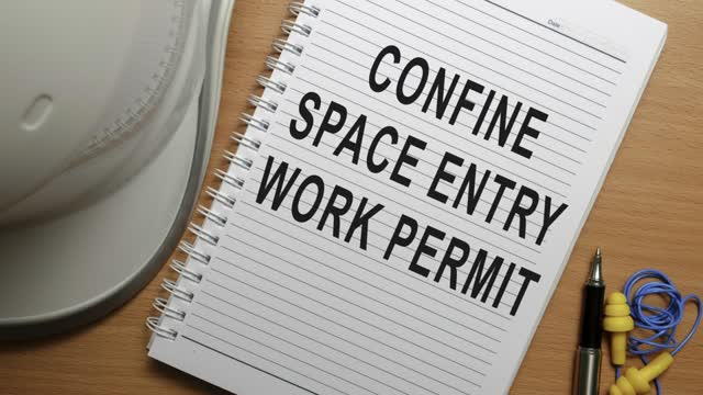 "Confined Spaces – ""What To Do Before You Enter"