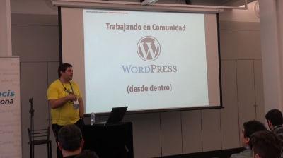 Rafa Poveda: Trabajando en Comunidad: WordPress desde dentro