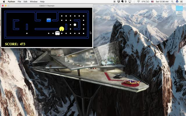 Pacman AI, Part II – PROJECT-SIGMOID