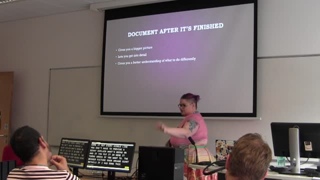 Kate Bolin: Documentation - Because Everyone Dies!