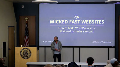 Chris Ferdinandi: Wicked Fast WordPress