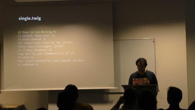 Walter Ebert: WordPress-Themes mit Twig entwickeln