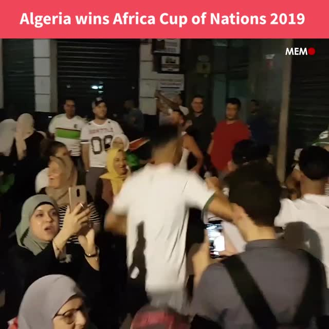 Algeria wins Africa Cup of Nations 2019