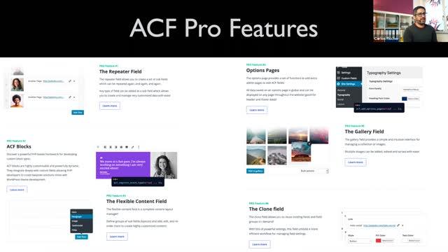Carlos Fischer Fernández, Frank Staude: CPT UI und ACF - Wie werden Inhalte sinnvoll strukturiert?
