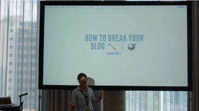 Hanni Ross: How to Break Your Blog