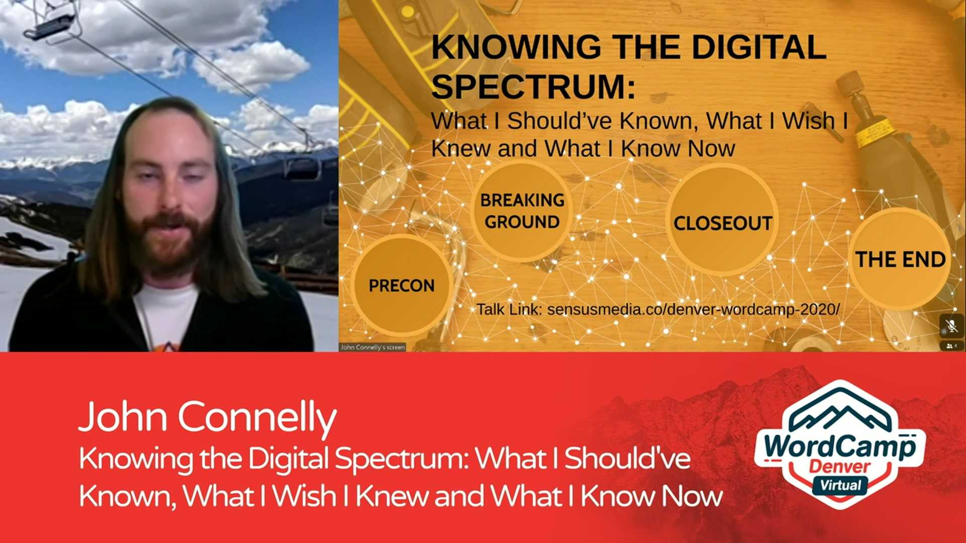 John Connelly: Knowing the Digital Spectrum – What I Should've Known, What I Wish I Knew and What I Know Now