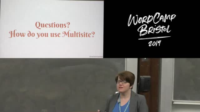 Rachel McCollin: Why Multisite? Uses for WordPress Multisite you may not have thought of
