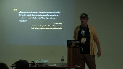 Matt Cheney: Testing Your Code as Part of an Industrial Grade Workflow