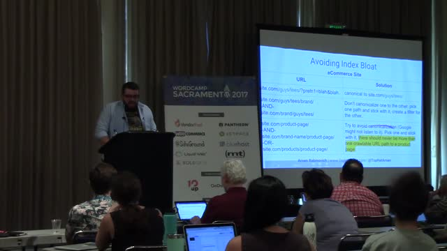 Arsen Rabinovich: WordPress Technical SEO - Best Practices For Publishers and eCommerce