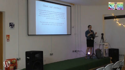 Leah Lockhart: Democratising Democracy: Lessons from Using WordPress for Civic Engagement