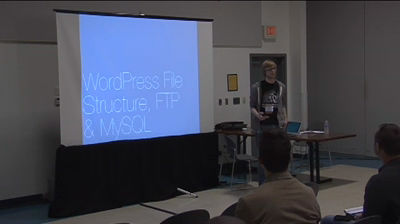 Brad Parbs: WordPress File Structure, FTP & MySQL