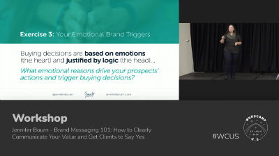 Jennifer Bourn: Brand Messaging 101 - Part 1