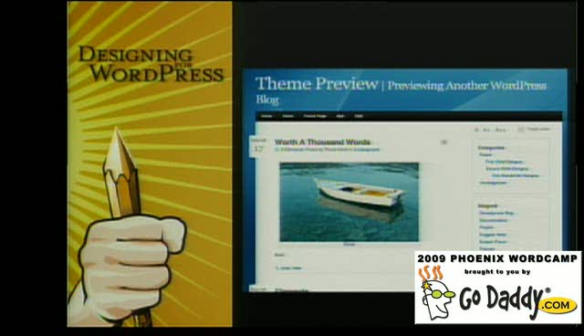 Brent Spore: Designing for WordPress