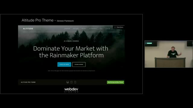 Russell Aaron: A Problem With WordPress Theme Demonstrations