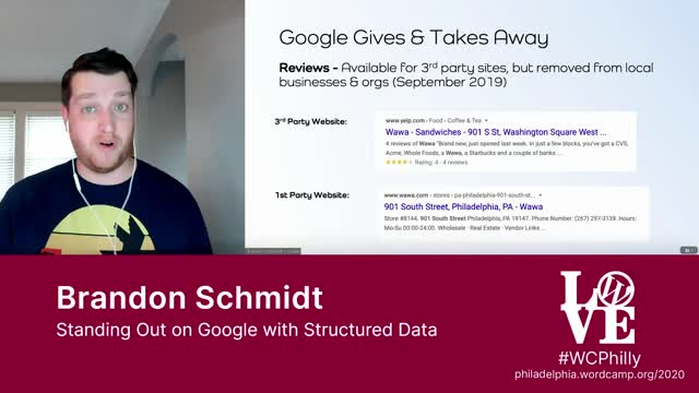 Brandon Schmidt: Standing Out on Google with Structured Data