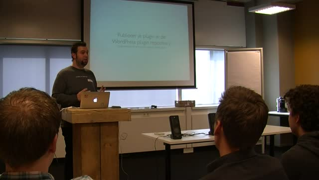 Luc De Brouwer: Plugin Development