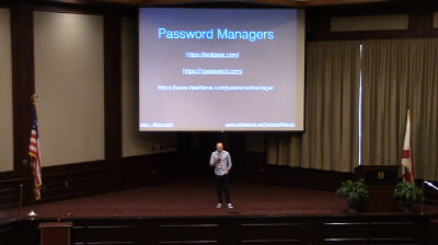 Gerroald Barron: Beginner WordPress Security