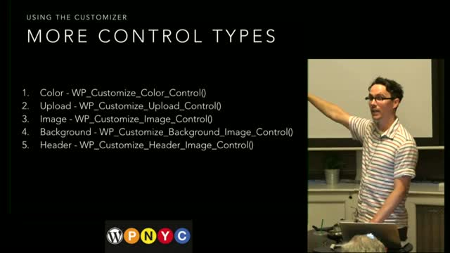 Thad Allender: Building Themes With The WordPress Customizer