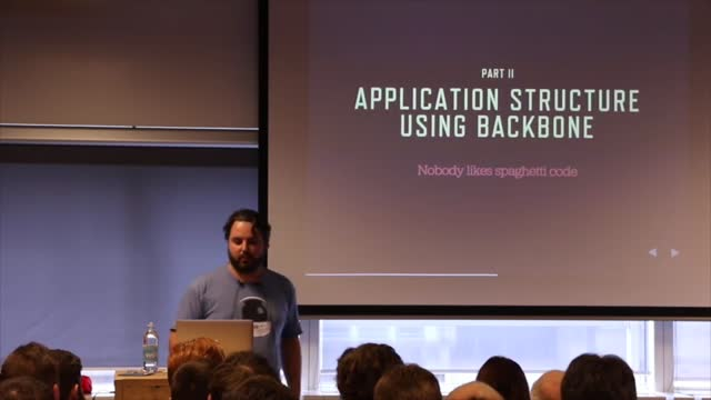 Luc Princen: The Javascript Theme: Business In The Front, WordPress In The Back