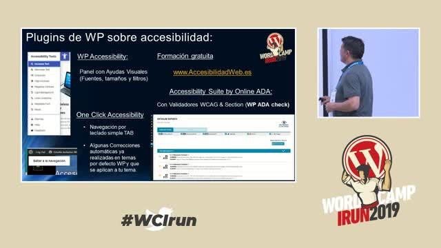 Isabel Rodriguez, Javier Hernández: Accesibilidad e inclusión con WordPress