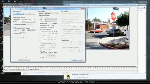 DeShaker in VirtualDub | OpenVisual FX