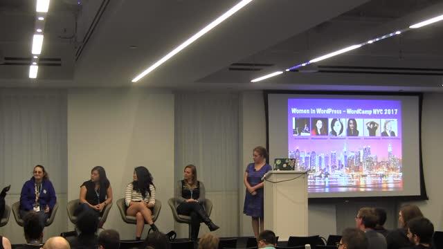 Panel Discussion: Women in WordPress