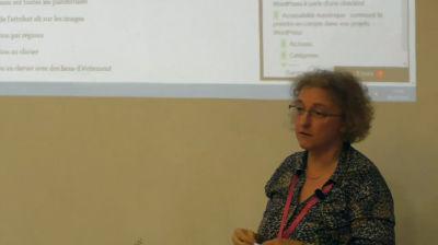 Claire Bizingre: Améliorer l'accessibilité d'un thème WordPress à partir d'une checklist