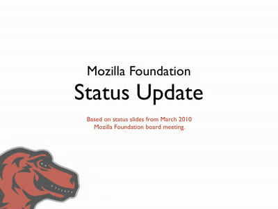 MoFo Status Update March 2010
