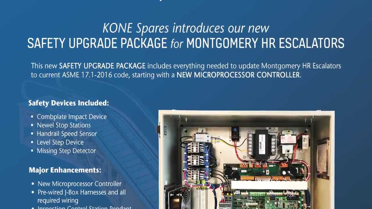 Montgomery HR Safety Upgrade Package – KONE Spares USA