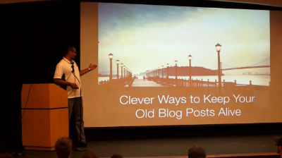 Syed Balkhi: Clever Ways to Keep Your Old Blog Posts Alive